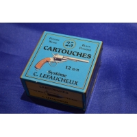 BOITE DE MUNITIONS DE RECHARGEMENT - CALIBRE 12mm A BROCHE
