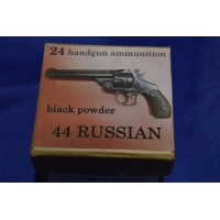 CALIBRE 44 SMITH & WESSON RUSSIAN BOITE DE CARTOUCHES MUNITIONS DE RECHARGEMENT PN