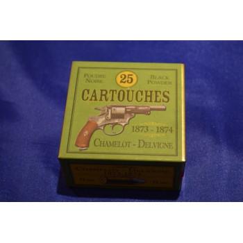 BOITE DE 25 CARTOUCHES MUNITION CALIBRE 11mm Révolver Modèle 1873 1874