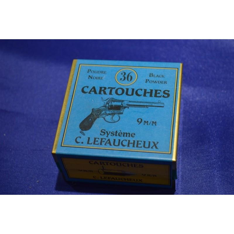 BOITE DE MUNITIONS DE RECHARGEMENT - CALIBRE 9mm A BROCHE