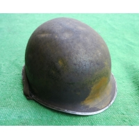 RARE CASQUE M1 A1 1er type CAMMOUFLE du 4e BATILLON 1er RCA ? US 2nd GM
