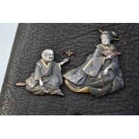 ETUI A CIGARRE JAPONAIS Signé - Japon XIXè