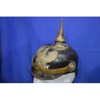CASQUE A POINTE OFFICIER BATAILLON PIONNIER Mle 1871-99 - All Ier GM