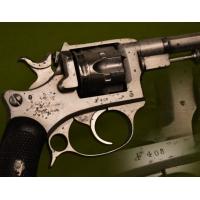 REVOLVER ESSAI ST ETIENNE Mdl 1887 daté 1888 Calibre 8 mm - France IIIe Rep.