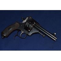 LE REDOUTABLE REVOLVER Mle 1888 HDH 2 Canons 20 Coups Cal 6.35 - BE XIXè