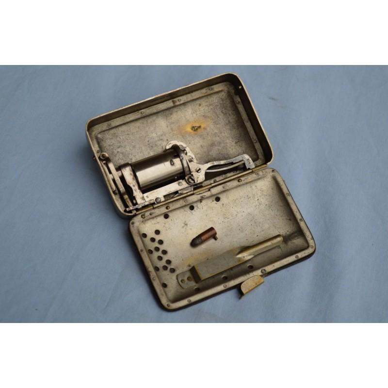 PORTE MONNAIE FRANKENAU 'S PATENT Calibre 5mm à broches 1877 - GB XIXè