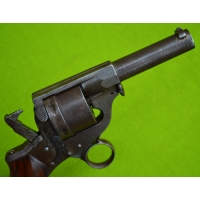 REVOLVER PERRIN Mle 1869 variante détente anneau Calibre 11mm - FR IInd Empire