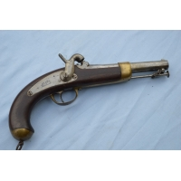 PISTOLET DE MARINE Mle 1849 MANUFACTURE DE CHATELLERAULT Calibre 15,2mm - France Louis Philippe & IInd Empire