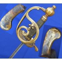 Armes Blanches SABRE D'OFFICIER DE GRENADIERS D'INFANTERIE MODELE REGLEMENTAIRE DE 1750-67 - FR ANCIEN REGIME {PRODUCT_REFERENCE