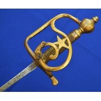 Armes Blanches SABRE OFFICIER GARDE DAUPHINé MODELE REGLEMENTAIRE DE 1750 - FR ANCIEN REGIME 4FRS09753 - 1