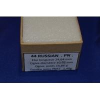 CALIBRE 44 SMITH & WESSON RUSSIAN BOITE DE CARTOUCHES MUNITIONS DE RECHARGEMENT PN