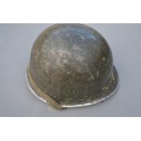 CASQUE US  M1 A1 1er type Peint BLANC – US 2nd GM