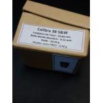 CALIBRE 38 SMITH & WESSON BOITE DE CARTOUCHES MUNITIONS DE RECHARGEMENT PN