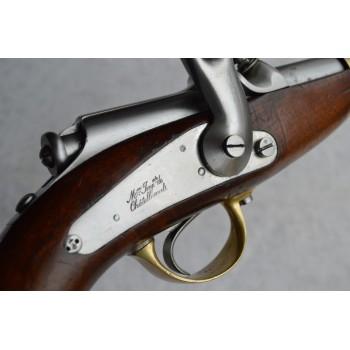 PISTOLET MANCEAUX VIEILLARD MODELE D'ESSAI 1862 Mre Imp Châtellerault Calibre 12mm - France Second Empire