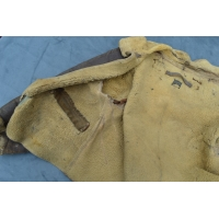 BLOUSON AVIATEUR BOMBARDIER CUIR 8th AIR FORCE USAAF 407th Bomb Squadron 92th Bomb Group 1944 CRASH VOSGES FRANCE - USA 2nd GM