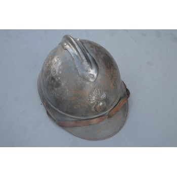 CASQUE ADRIAN MODELE 15 INFANTERIE 1er Type - France 1er GM
