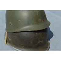 CASQUE M1A1 1er Armée 2e Div Inf Marocaine1944 Matriculé - Fr 2nd GM