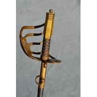 SABRE OFFICIER SUBALTERNE CAVALERIE DE LIGNE  époque DIRECTOIRE  1793-1804