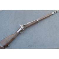 CARABINE DE CHASSEUR Modèle 1859 modifié 1867 à Tabatière Mre Tulle 1861 Calibre 17.8mm - FRance Second Empire