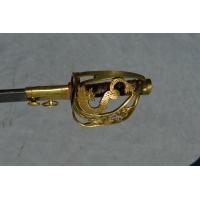 SABRE DE VOLONTAIRES NATIONAUX DE LA GARDE DU DAUPHINE aux Armes de France  - France Louis XVI