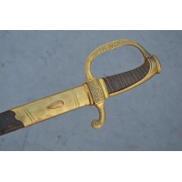 SABRE OFFICIER COMPAGNIES D'ELITES INFANTERIE GARDE ROYALE Modèle 1816 - FR Restauration