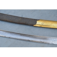 SABRE OFFICIER COMPAGNIES D'ELITES INFANTERIE GARDE ROYALE Modèle 1816 - FR Restauration