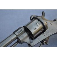 REVOLVER STEPHANOIS FABRIQUE DE SAINT ETIENNE MOUVEMANT ACIER Calibre 7mm à broche - FR XIXè