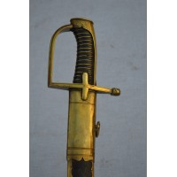 SABRE OFFICIER HUSSARD 1760 Règne Louis XV - France Ancienne Monarchie