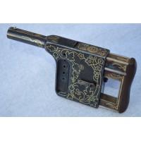 PISTOLET LUXE GAULOIS 8mm Manufacture Saint Etienne France XIXè