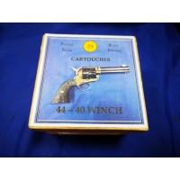 CALIBRE 44/40 WINCHESTER Munitions cartouches poudre noire Rechargées Neuves