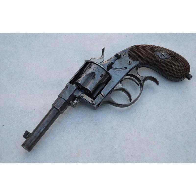 REVOLVER REICH DA OFFICIER Mdl. 1883 Calibre 106mm - Allemagne XIXé