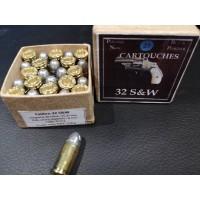 Rechargement Munitions 32 Smith & Wesson short Boite de 25 CARTOUCHES MUNITIONS RECHARGEMENT PN {PRODUCT_REFERENCE} - 1