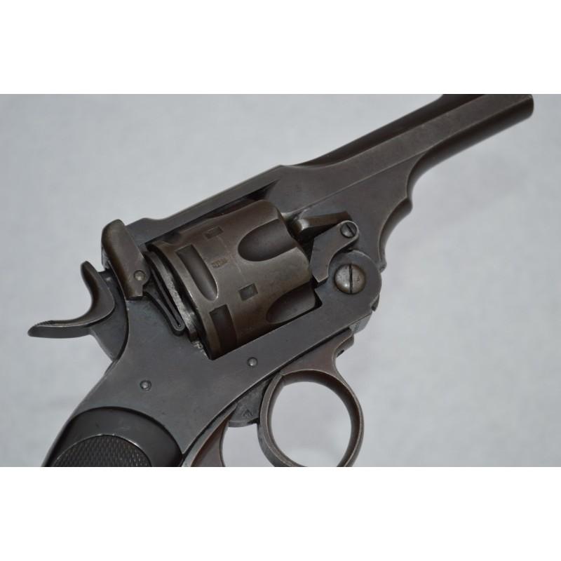 REVOLVER REGLEMENTAIRE WEBLEY MARK IV 1898 RIC Calibre 455 - GB XIXè 1ere GM