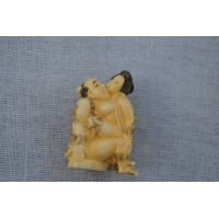 NETSUKE EROTIQUE JAPON XIXè