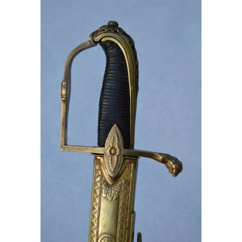 SABRE OFFICIER SUPERIEUR DE HUSSARD 1795 - 1801 FRANCE DIRECTOIRE PREMIER EMPIRE