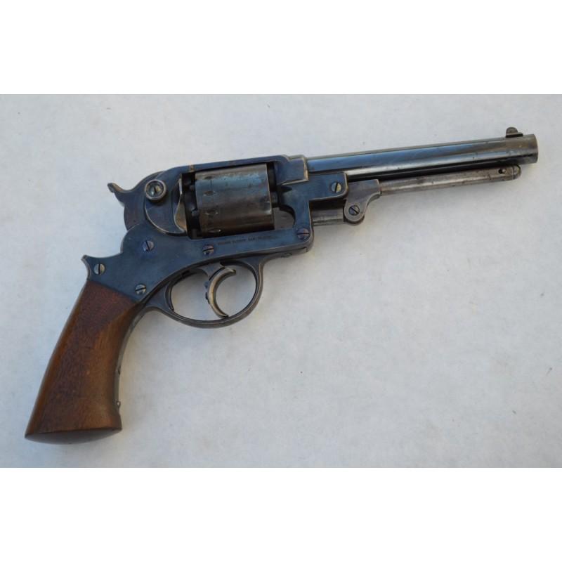 REVOLVER STARR Arms New York 1856 1863 Double Action Calibre 44
