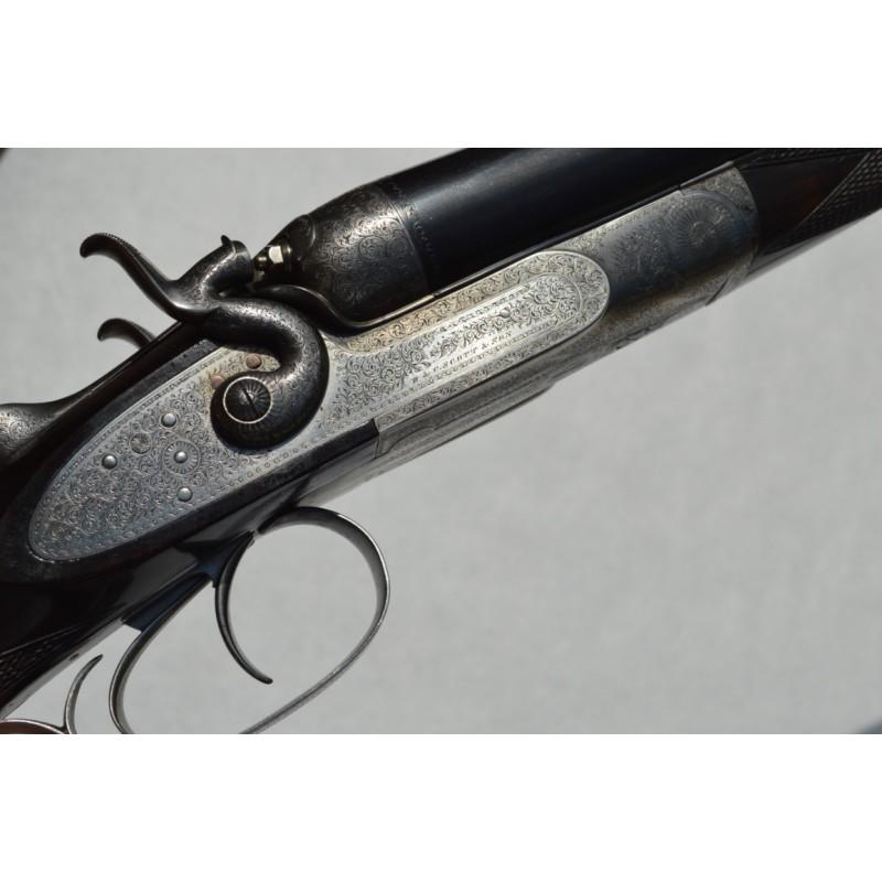 FUSIL CHASSE W&C.SCOTT & SON PIGEON CLUB GUN 1870 Patent Triplex Grip 10 Gt Castle Street Regent Circus LONDON