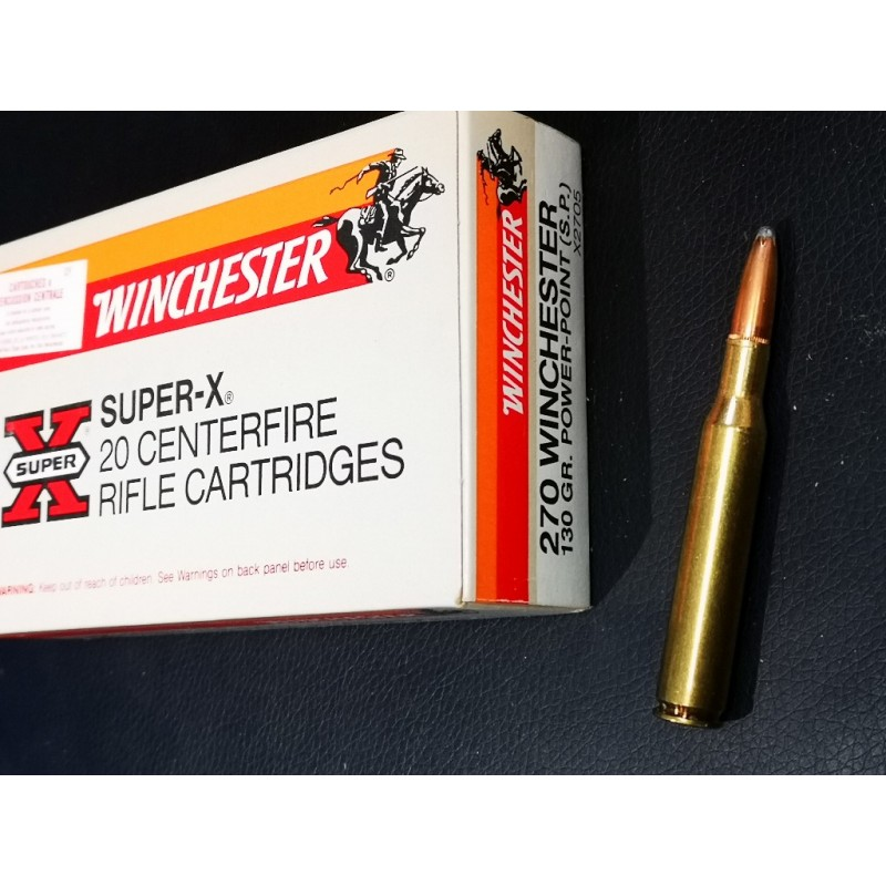 20 Munitions WINCHESTER 270 WSM POWER POINT