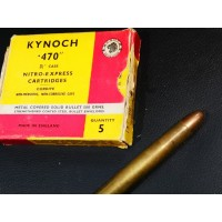 KYNOCH MUNITIONS .470 NITRO...