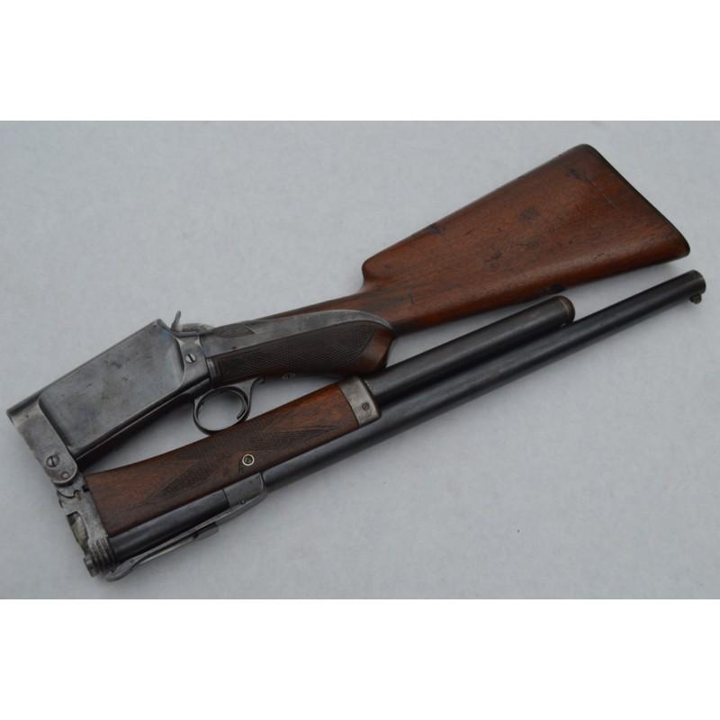 BURGESS FOLDING GUN 1894 FUSIL POMPE PLIANT