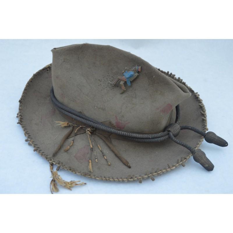 CHAPEAU AMERICAIN GUERRE ESPAGNE 1898