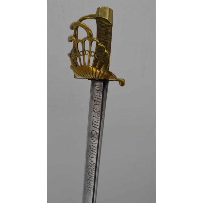 SABRE de Gradé de la GENDARMERIE NATIONALE ver 1800 - FRANCE DIRECTOIRE - PREMIER EMPIRE