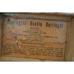 BOITE CARTON POUR DOUBLE DERRINGER Cal 41RF - US XIXè