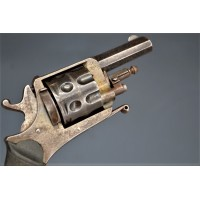 Handguns REVOLVER BULL DOG SYSTÈME ABADIE 9 COUPS Calibre 6.35 - BE XIXè {PRODUCT_REFERENCE} - 2