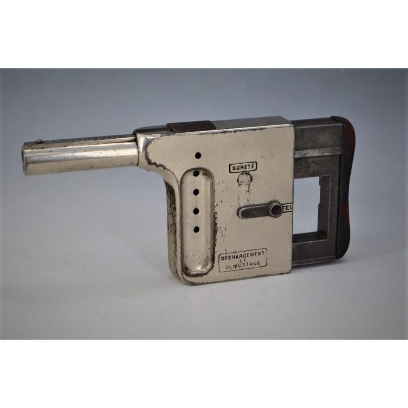 PISTOLET GAULOIS 1er modèle MITRAILLEUSE DE POCHE Calibre 8mm gaulois
