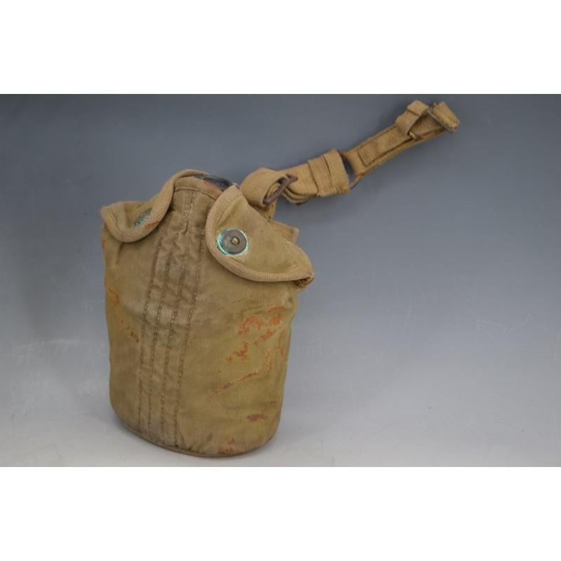 GOURDE PARACHUTISTE US British Made - USA WW2