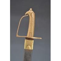 Armes Blanches SABRE BRIQUET TETE AIGE du Régiment Suisse de Genève de 1781 à 1792- France Premier Empire {PRODUCT_REFERENCE} -