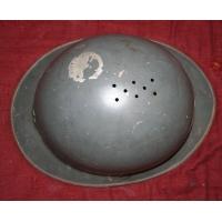 Rare casque Adrian d essai Mle C réalisé en 1917 ? Fr 1er GM