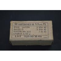 BOITES MUNITIONS SFM 5.5mm...