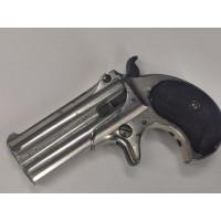 Armes de Poing PISTOLET REMINGTON DOUBLE DERRINGER OVER UNDER Nickelé Calibre 41 RIMFIRE - US XIXè {PRODUCT_REFERENCE} - 1